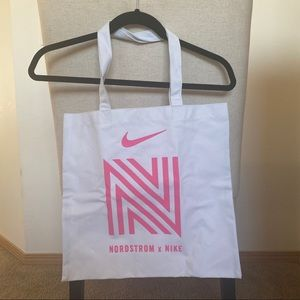 Nike x Nordstrom Canvas Tote White & Pink